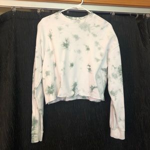 Tie Dye Forever 21 Cropped Sweater